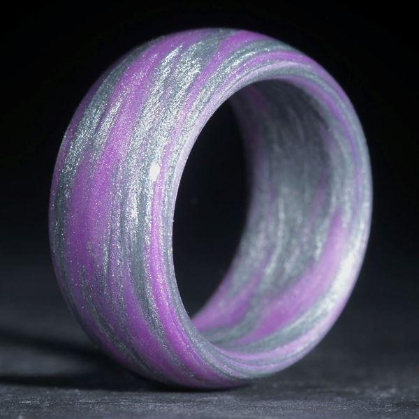 Alutexring, Alutex / Kobaltviolett (Duplex)