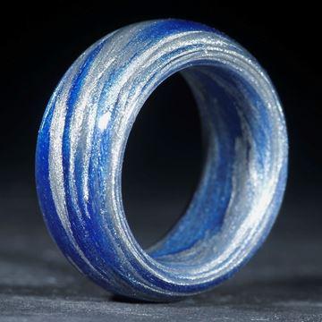 Alutex / Ultramarinblau rotstichig (Duplex) poliert