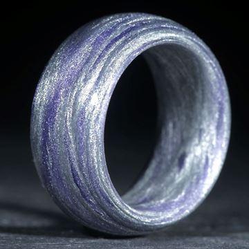 Alutex / Ultramarinviolett (Duplex) poliert