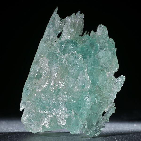 Aquamarinkristall ca. 80x59x44mm, 180.4g
