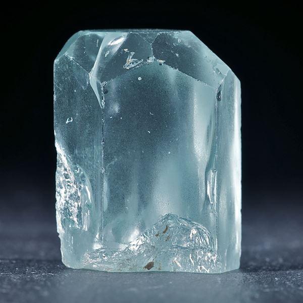 Aquamarinkristall ca.31x24x18mm, 25.8g
