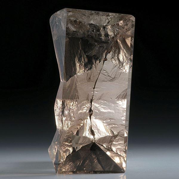 Bergkristall Schweiz, Spiegelschliff