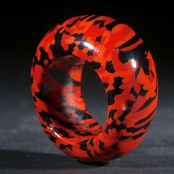 Fusing-Glas-Ring, konisch geschliffen und poliert