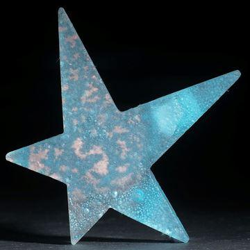 Fusing-Glas-Stern mit eingeschmolzenem Kupfer