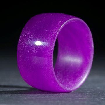 Glasfaserring, handgewickelt (Kobaltviolett hell)