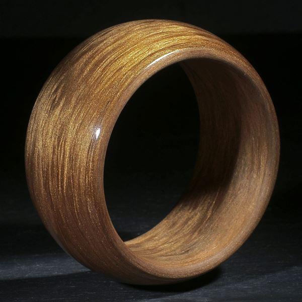 Glasfaserarmreif mit Bronzepigment
