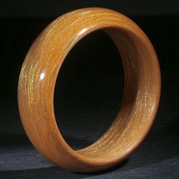 Glasfaserarmreif mit Goldeffekt-Pigment