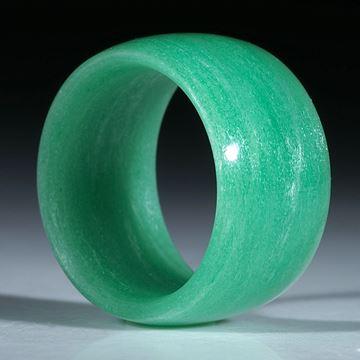 Bild von Glasfaserring handgewickelt, Cadmiumgrün dunkel