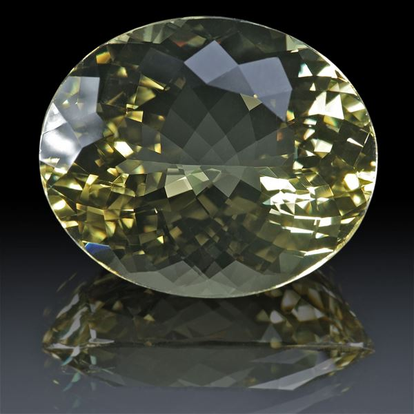 Goldberyll oval 49.63ct.