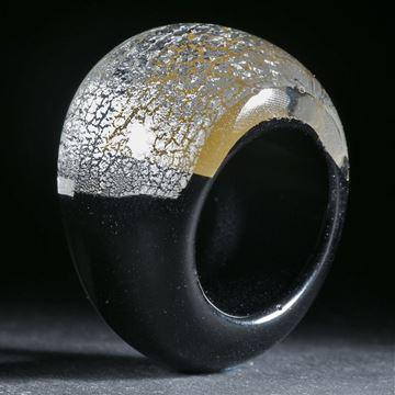 Goldglasring / Silberglasring, Innendurchmesser 19.1mm