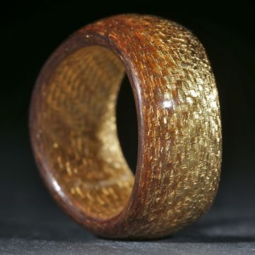 Goldtex feines Muster poliert
