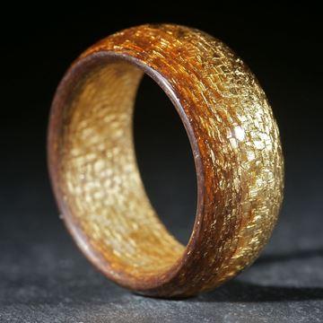 Goldtex feines Muster, poliert