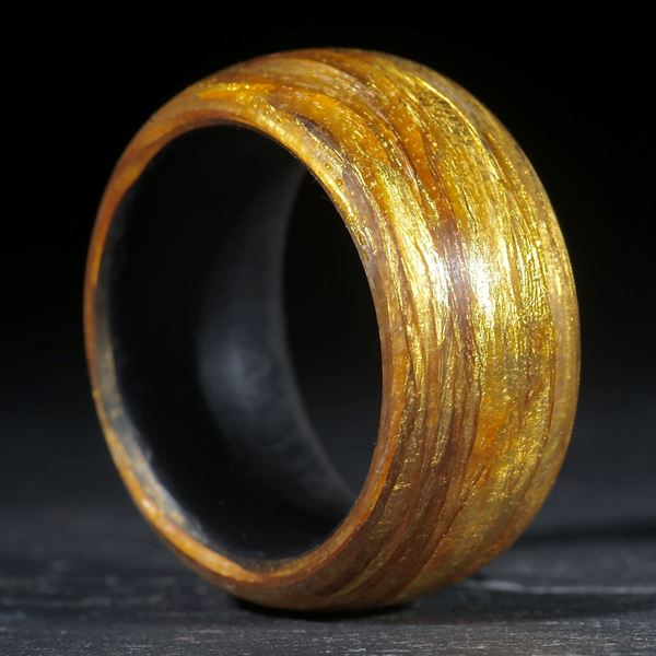 Goldtex gewickelt matt