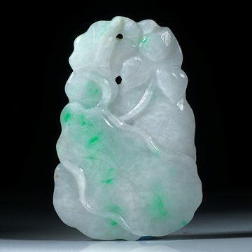 Jade Schnitzerei aus China