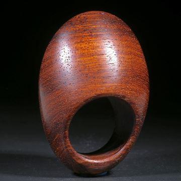 Mahagoniholz Ring