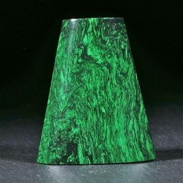 Maw sit sit, Chloromelanit oder auch Jade-Albit aus Burma