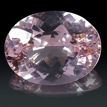 Morganit oval 33.65ct. ca.25x19x12mm
