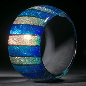 Opalglas Armreif