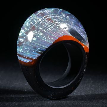 Opalglas Ring