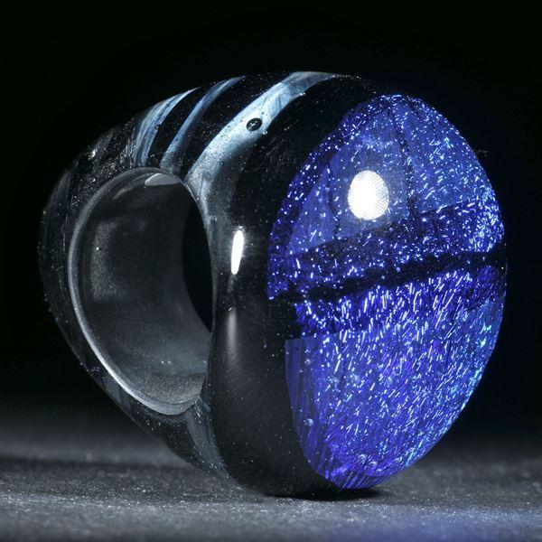 Opalglas Ring