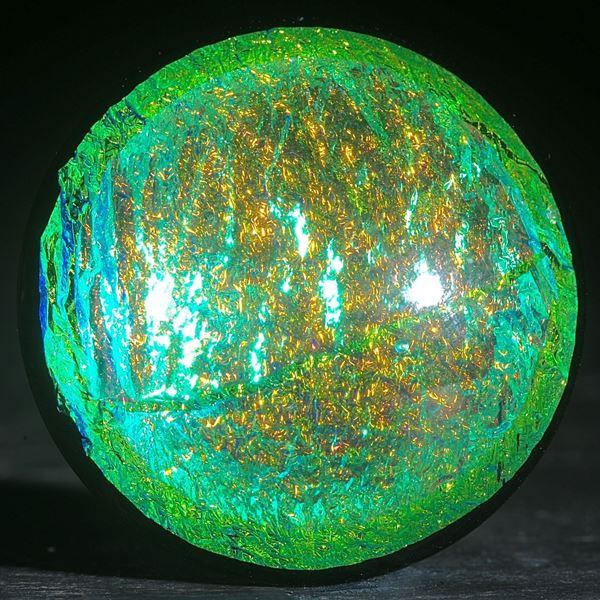 Opalglas rund, Oberfläche gewölbt und poliert