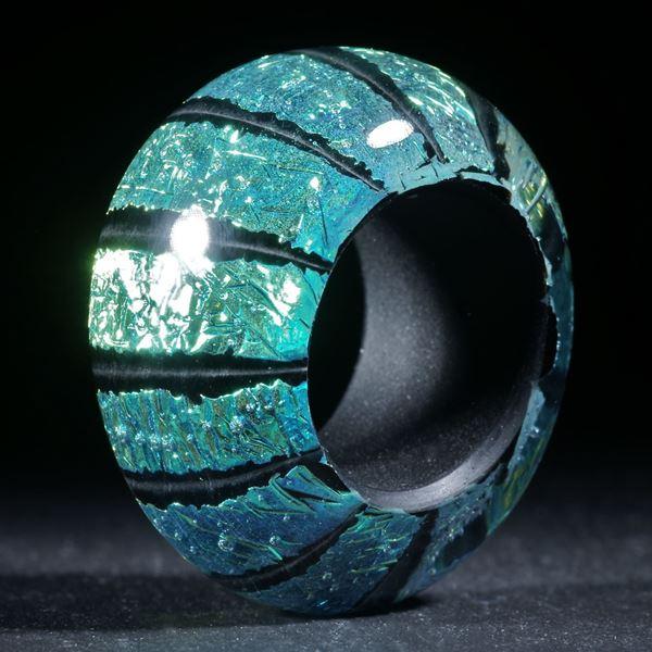 Opalglas Fingerring