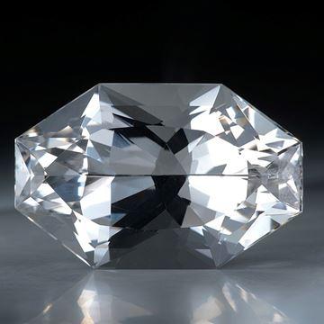 schweizer Bergkristall 41.24ct. ca. 30x19x13.5mm