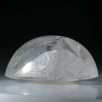 sehr grosser Quarz in Quarz Cabochon ca.65x53.5x33mm