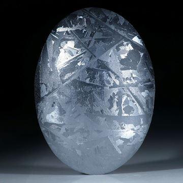 Silicium, handgeschliffener ovaler Cabochon