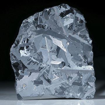 Siliciumkristall, dünne Scheibe mit geätzter Oberfläche