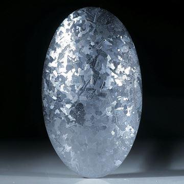Siliciumkristall, grosser handgeschliffener Cabochon
