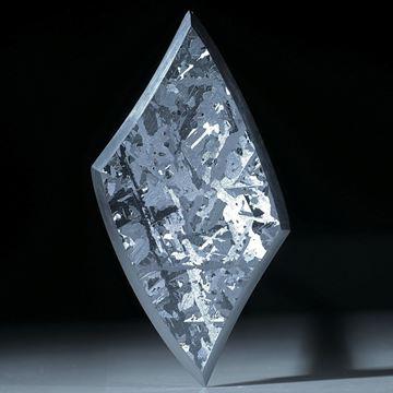 Siliciumkristall, handgeschliffene Fantasieform