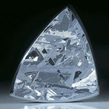 Siliciumkristall, handgeschliffenes Dreieck