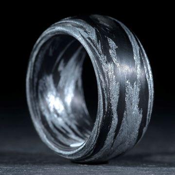 Karbonring Carbon / Alutex gewickelt