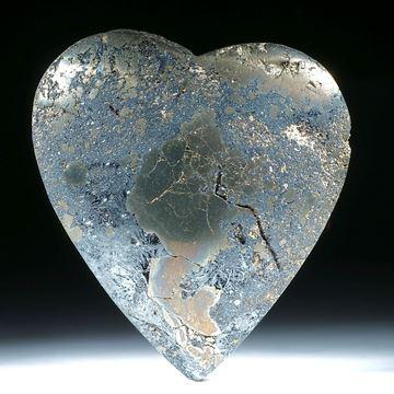 Hämatitherz (Eisenerz) mit Pyrit