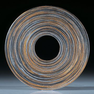 Scheibe in Carbon und Glasfaser Bronce / Alu (Triplex)