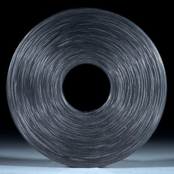Scheibe aus handgewickeltem Carbon