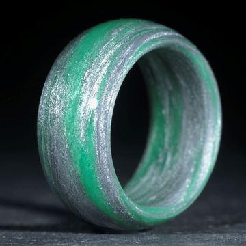 Fibertecring Alutex / Cadmiumgrün dunkel (Duplex)