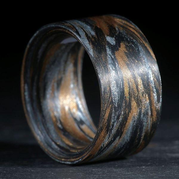 Karbon/Broncetex/Alutex gewickelt (Triplex)