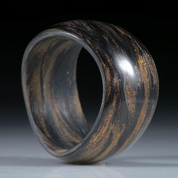 Fibertec-Ring Carbon/Glasfaser, Mira Kupfer
