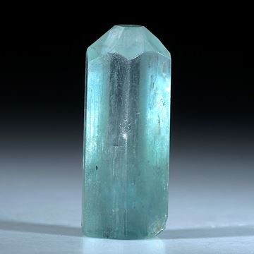 Aquamarin Kristall ca.25x10mm, 21.92ct.