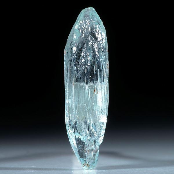 Aquamarin Kristall ca.35x10mm, 22.61ct.
