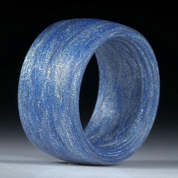 Fibertec Ring gewickelt, matt, parallel innen/aussen gerundet