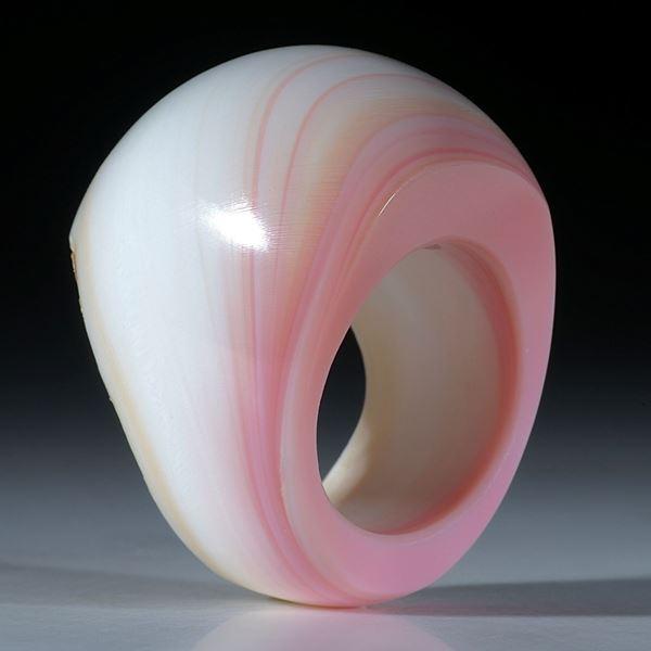 Fechterschnecke, Conch (strombus gigas), Fingerring