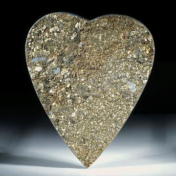 grosses Pyritherz mit kristalliner Oberfläche
