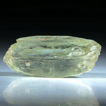 Heliodor Kristall ca.35x15mm, 43.59ct.