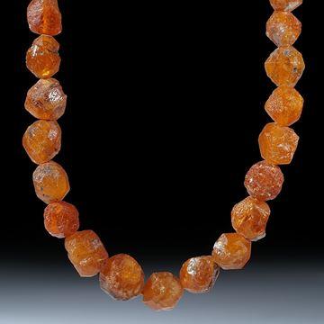 Mandaringranat Kristallcollier