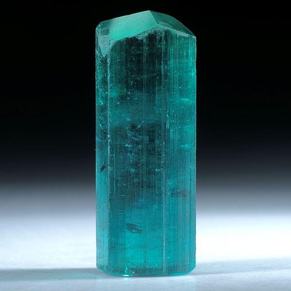 Turmalin Kristall Namibia, ca.31x11mm, 36.77ct
