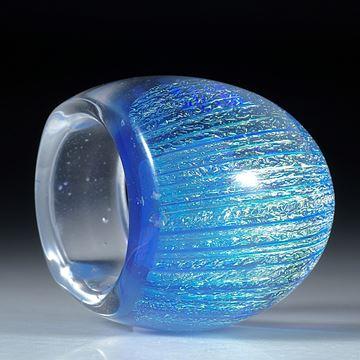 Fingerring Opalglas, Innendurchmesser 20,2mm