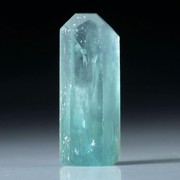 Aquamarin Kristall 16.93ct.  ca.24x10mm